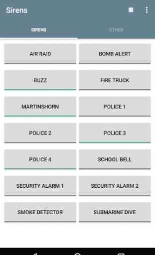 Siren, Alarm & Horn Sounds 1