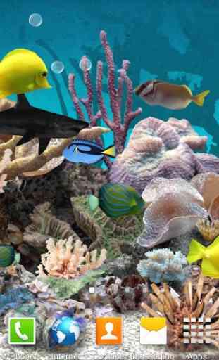 3D Aquarium Live Wallpaper 1
