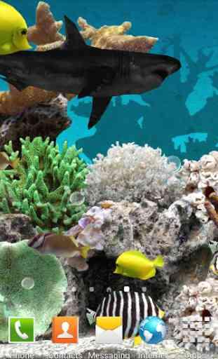 3D Aquarium Live Wallpaper 2