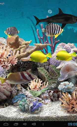 3D Aquarium Live Wallpaper 4