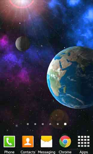 Earth 3D Live Wallpaper FREE 1