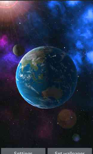 Earth 3D Live Wallpaper FREE 2