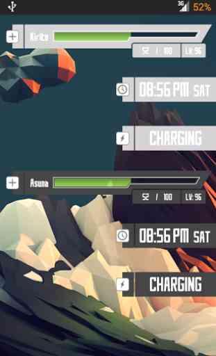 SAO UCCW Widgets 4
