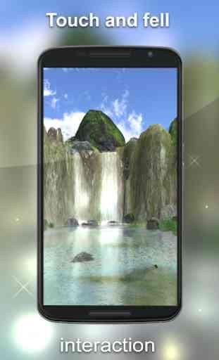 Waterfall Live Wallpaper 3D 1