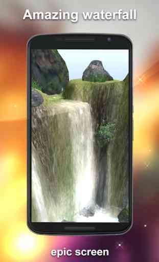 Waterfall Live Wallpaper 3D 3