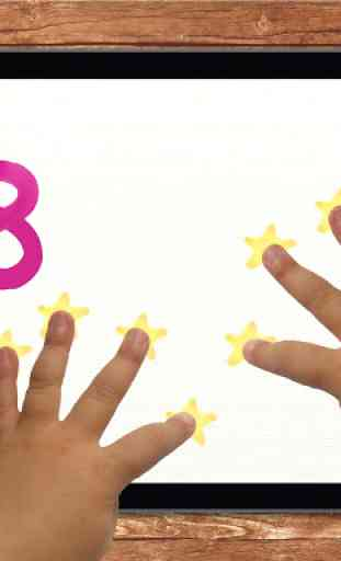 10 fingers for Smart Numbers 4