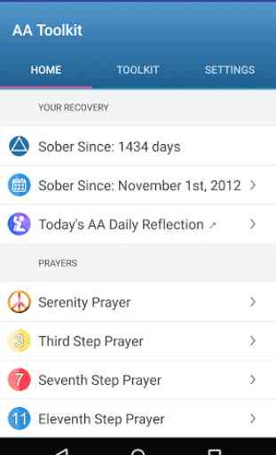 12 Step Toolkit - AA Recovery 1