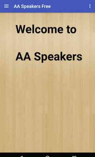 AA Speakers Free (Alcoholics) 1