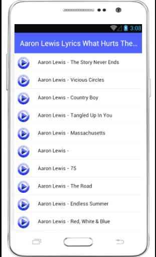 Aaron Lewis Lyrics Country Boy 3
