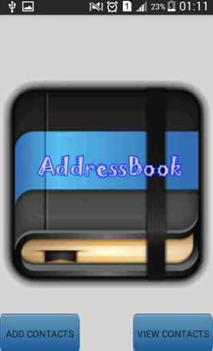 AddressBook 1
