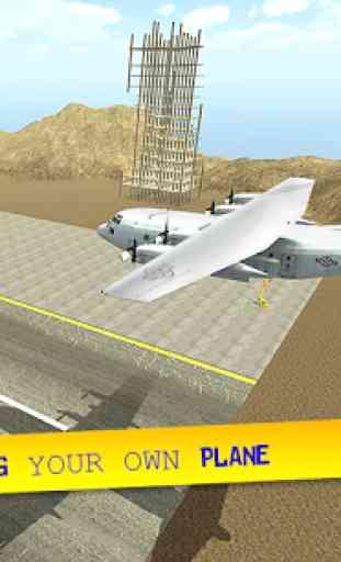 Cargo Plane City Airport 1