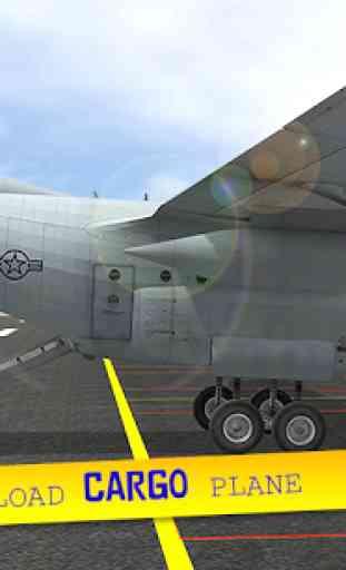 Cargo Plane City Airport 2