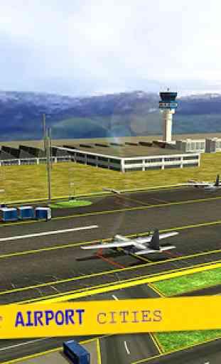 Cargo Plane City Airport 3