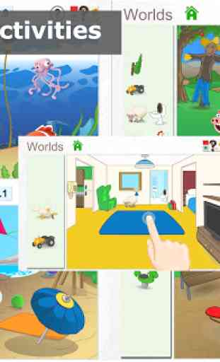 Deedu Worlds - Game for kids 1