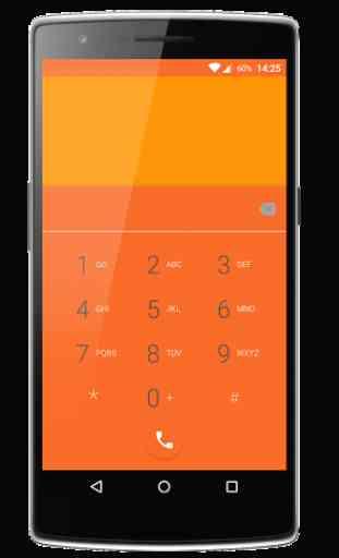 Elegance Orange CM12 Theme 2