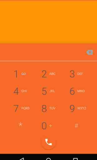 Elegance Orange CM12 Theme 3