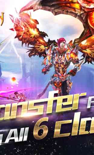 Forsaken World Mobile MMORPG 3