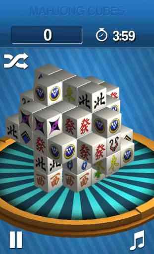 Mahjong Cubes 1