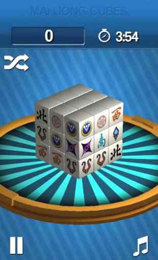 Mahjong Cubes 3