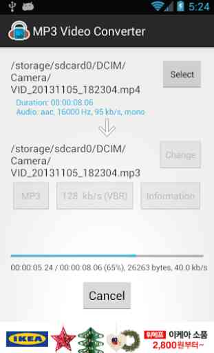 MP3 Video Converter 4