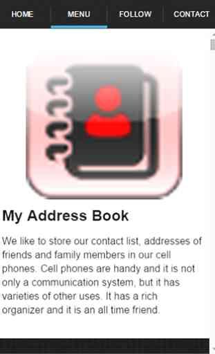 My Address Book Guide 2