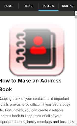 My Address Book Guide 3