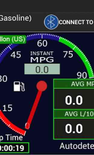 OBDII Car MPG Demo (Gasoline) 4