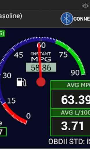 OBDII Car MPG Pro (Gasoline) 2