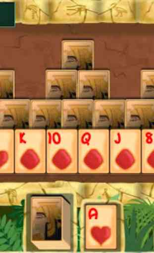 PYRAMID SOLITAIRE card game 2