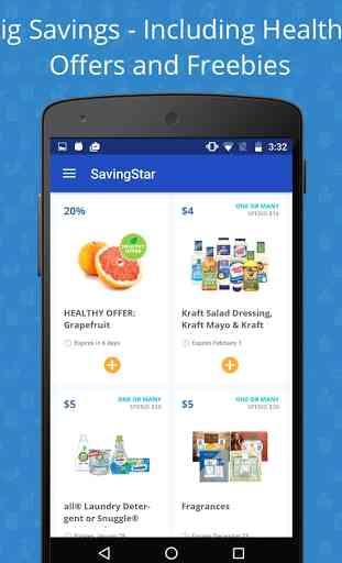 SavingStar - Grocery Coupons 1