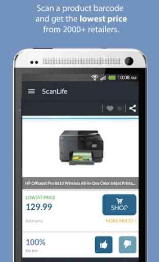 ScanLife Barcode & QR Reader 2