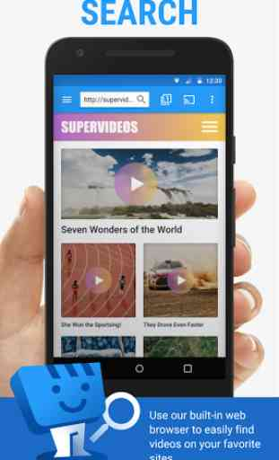 Web Video Cast | Browser to TV 1