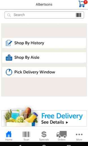 Albertsons Delivery 1