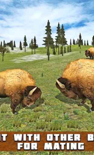 American Bison Simulator 1