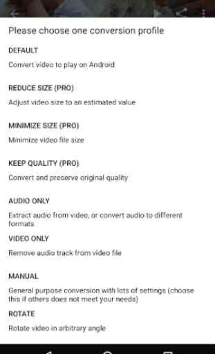 Audio/Video Converter Android 3