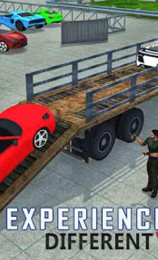 Car Transporter Airplane Cargo 2