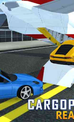 Car Transporter Airplane Cargo 3