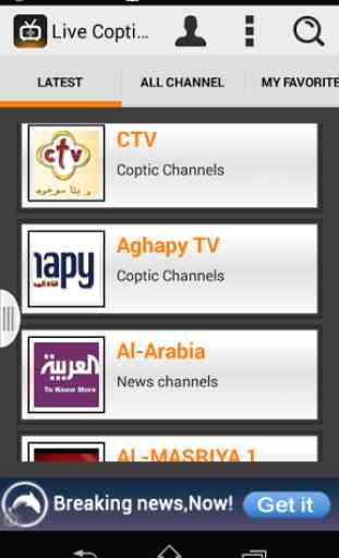 Free Live Coptic & News TV 3