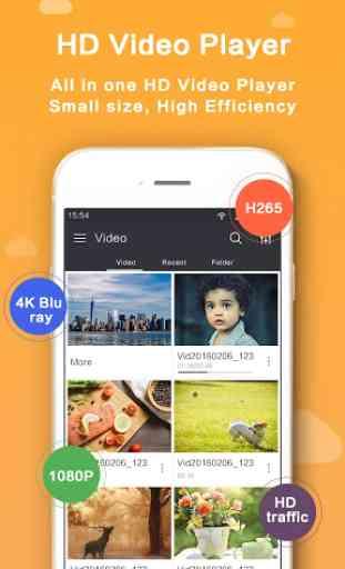 HD Video Player - Media Player 1