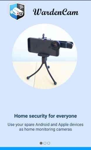 Home Security Camera WardenCam 1