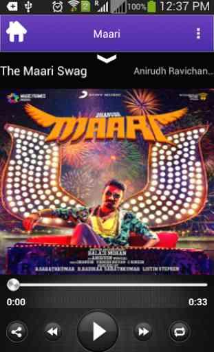 Maari Movie Songs 3