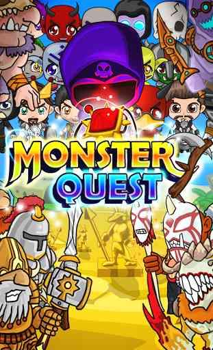 Monster Quest -Evolve Monsters 1