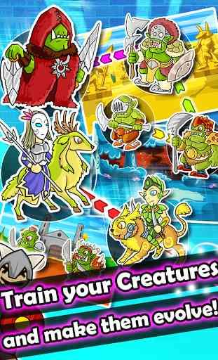 Monster Quest -Evolve Monsters 3