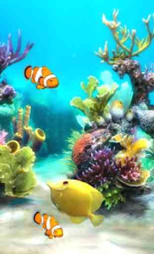 Sim Aquarium Live Wallpaper 2