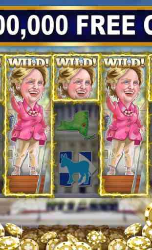 Trump vs Hillary Slot Games! 1