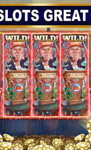 Trump vs Hillary Slot Games! 2