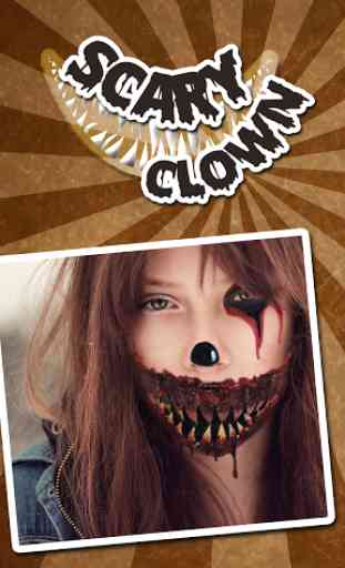 Scary Clown Face Maker 1