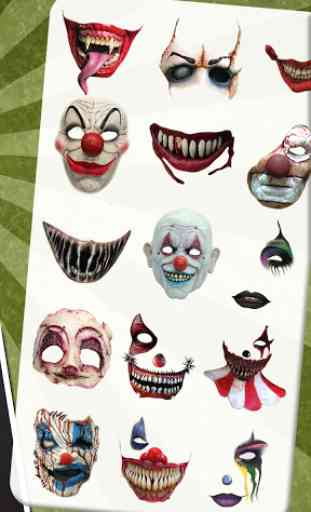 Scary Clown Face Maker 4