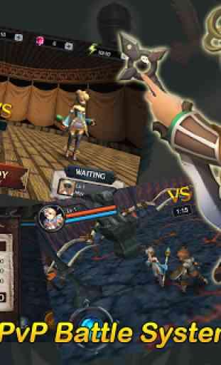 ★ 3D MO RPG Heaven Sword II  ★ 2