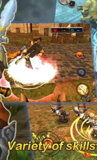★ 3D MO RPG Heaven Sword II  ★ 3